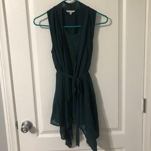 Naked Zebra Green Top
